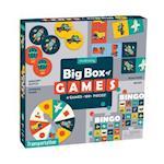 Transportation Big Box of Games