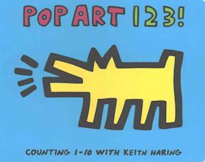 Bog, papbog Keith Haring Pop Art 123! af Galison Mudpuppy