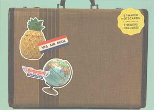 Bog, hardback Vintage Shaped Portfolio Notecards af Phat Dog Vintage