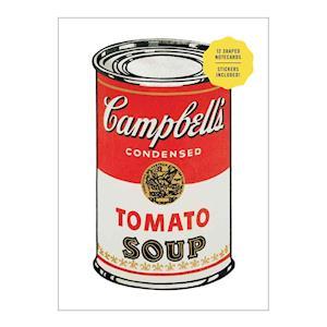 Bog, hardback Andy Warhol Shaped Portfolio Notecards af Andy Warhol