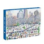 Michael Storrings Winter in Central Park 1000 Piece Puzzle