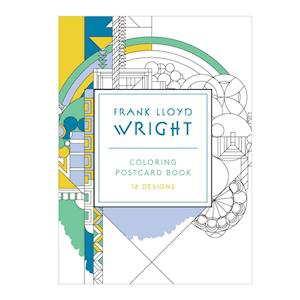 Ukendt format Frank Lloyd Wright Coloring Postcards