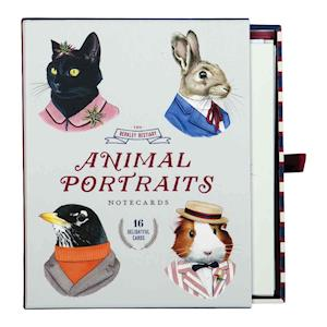 Bog, hardback Berkley Bestiary Animal Portrait Greeting Card Assortment af Ryan Berkley