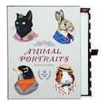 Berkley Bestiary Animal Portrait Greeting Card Assortment af Ryan Berkley
