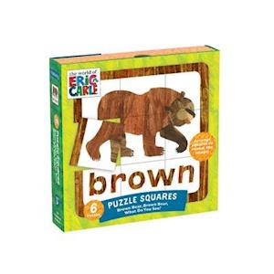 Bog, ukendt format The World of Eric Carle - Brown Bear, Brown Bear, What Do You See? Puzzle Squares af Mudpuppy