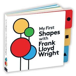 Bog, papbog My First Shapes with Frank Lloyd Wright af Galison Mudpuppy