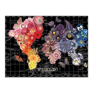 Bog, hardback Wendy Gold Full Bloom 1000 Piece Puzzle af Galison