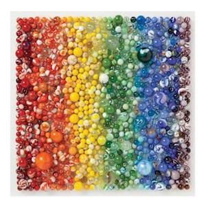 Bog, hardback Rainbow Marbles 500 Piece Puzzle af Julie Seabrook Ream