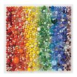 Rainbow Marbles 500 Piece Puzzle af Julie Seabrook Ream