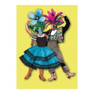 Bog, paperback Christian Lacroix Flower Dancers A6 6