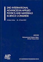 2nd International Advances in Applied Physics and Materials Science Congress (AIP Conference Proceedings Numbered, nr. 1476)