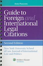 Guide to Foreign and International Legal Citation (Aspen Coursebook)
