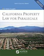 California Property Law for Paralegals [With CDROM]