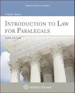 Introduction to Law for Paralegals (Aspen College Series)