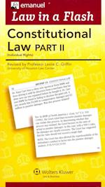 Constitutional Law (Law in a Flash)