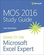 MOS 2016 Study Guide for Microsoft Excel Expert af Paul Mcfedries