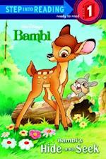 Bambi's Hide-And-Seek (Disney Bambi) (Step Into Reading Level 1 Quality)
