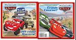 Off-Road Racers!/Crash Course! [With Sticker(s)] (Disney Pixar: the World of Cars)