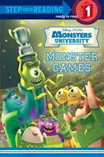 Monster Games (Step into Reading : A Step 1 Book)