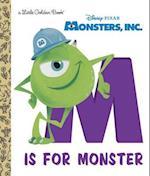 M Is for Monster (Little Golden Books)