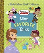Disney Junior Nine Favorite Tales (Little Golden Book Collection)