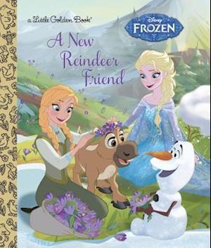 Bog hardback A New Reindeer Friend af Jessica Julius