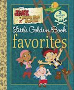 Jake and the Never Land Pirates LGB Favorites (Jake and the Never Land Pirates) (Little Golden Book Favorites)