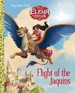 Flight of the Jaquins (Big Golden Books)