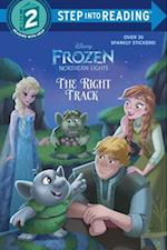 The Right Track (Disney Frozen (Step Into Reading)