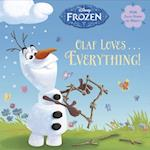 Olaf Loves Everything! (Disney Frozen Pictureback)