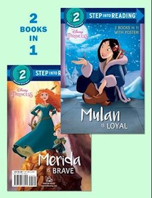 Bog, paperback Mulan Is Loyal / Merida Is Brave af RH Disney