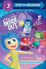 Welcome to Headquarters (Disney/Pixar Inside Out) (Step Into Reading Level 3 Library)