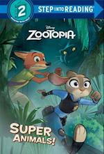 Super Animals! (Step Into Reading. Step 2)