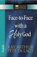 Face-to-Face with a Holy God (The New Inductive Study Series)