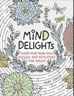 Mind Delights (Brain Activities and Adult Coloring)