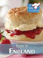 Foods of England (TASTE OF CULTURE)