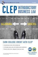 CLEP(R) Introductory Business Law Book + Online, 2nd Ed. (Clep Test Preparation)