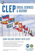 CLEP(R) Social Sciences & History Book + Online, 2nd Ed. (Clep Test Preparation)