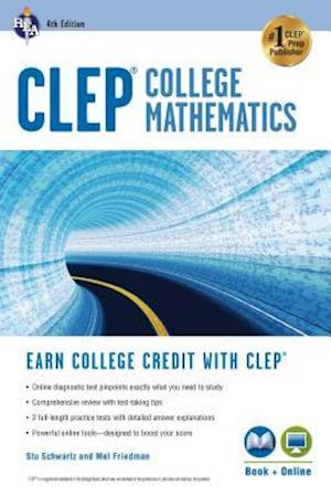 Clep(r) College Mathematics, 4th Ed., Book + Online