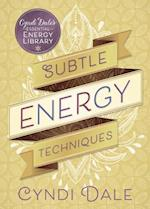 Subtle Energy Techniques (Cyndi Dales Essential Energy Library)