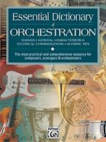 Essential Dictionary of Orchestration af Dave Black, Tom Gerou