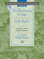 10 Christmas Songs for Solo Voice af Mark Hayes