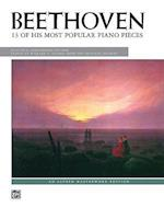 Beethoven 13 Most Popular Piano Pieces, Practical Performing Edition af Ludwig Van Beethoven