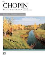 Chopin Ballade in G Minor af Chopin