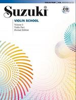 Suzuki Violin School, Volume 3 (Suzuki Violin School, Violin Part, nr. 03)