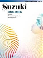 Suzuki Violin School, Volume 1 (Suzuki Violin School, Piano Accompaniments, nr. 1)