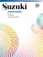 Suzuki Violin School, Vol 5 (The Suzuki Method Core Materials, nr. 5)