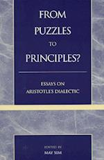 From Puzzles to Principles? af Edward Halper, Lenn E Goodman, J D G Evans