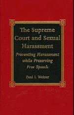 The Supreme Court and Sexual Harassment