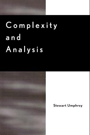 Complexity and Analysis